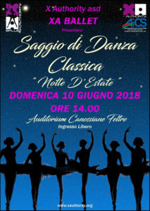 Locandina_Saggio_2018_A4